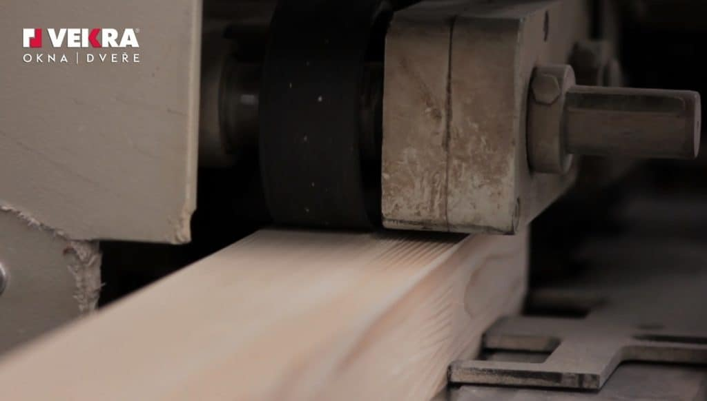 Zpracování dřevěných hranolů
