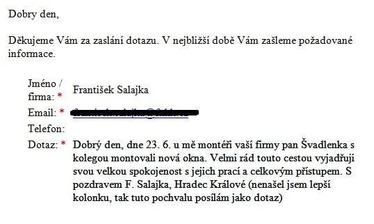 SALAJKA - Hradec Králové