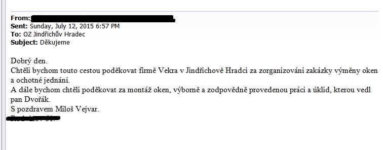 VEJVAR - Jindřichův Hradec