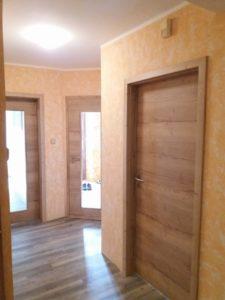 Interiérové dveře VEKRA Simple prosklené a plné