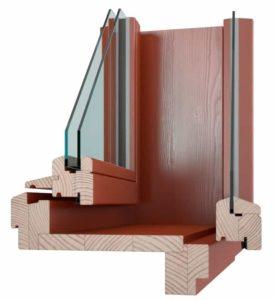 Špaletová okna vekra