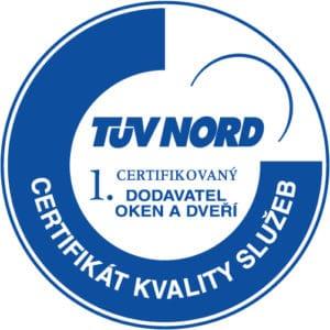 Certifikát kvality služeb VEKRA