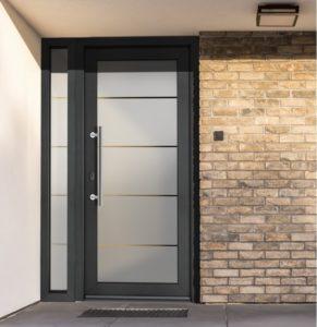 Vchodové dveře VEKRA Imagine s pískovanou výplní